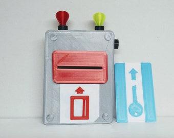Hello Neighbor - Keycard Terminal -3D Printed *Fan Inspired*