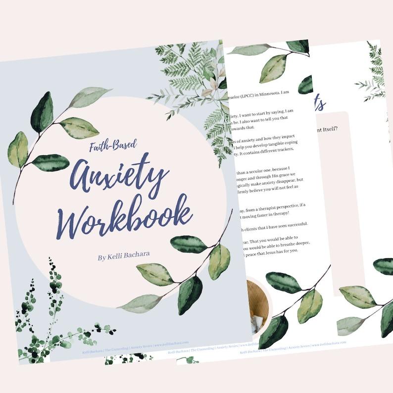 Faith-Based Anxiety Workbook image 0