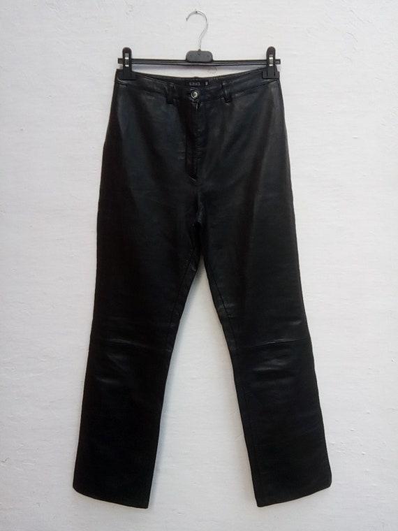 "Leather trousers ""Saki"" - ""Saki"" leather trousers"