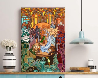 Welcome from Lothlorien Art Print - Lord of the Ring Poster