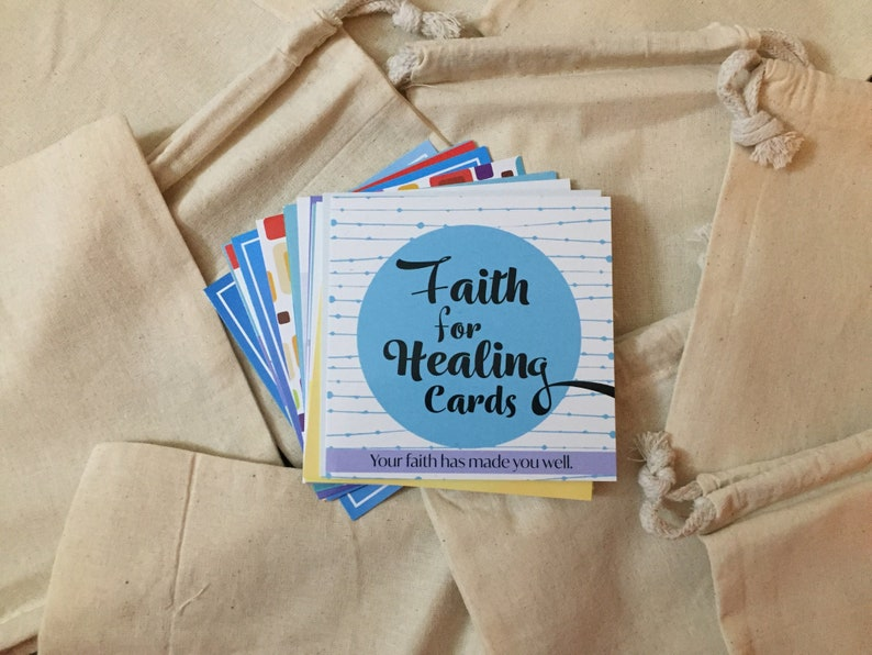 Faith for Healing Scripture Cards image 0