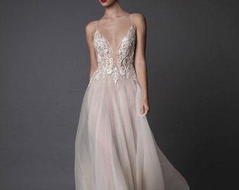 Wedding dress, wedding dress, elegant dress, wedding dress