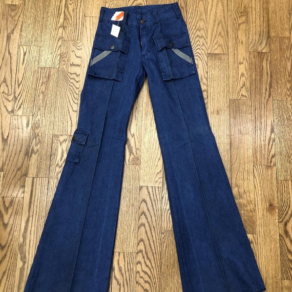 Deadstock Vintage iconic Dolly Parton bell bottoms