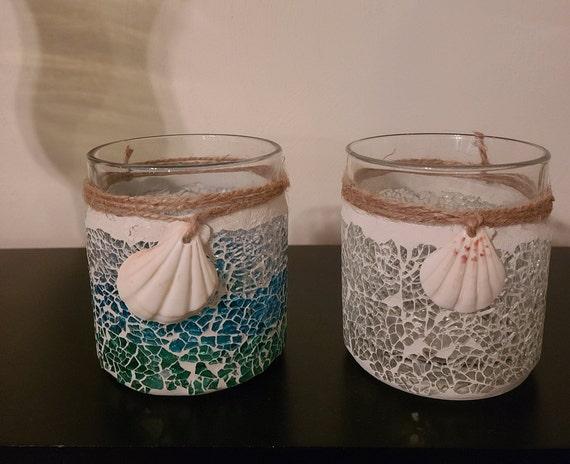 12OZ Beach Shell Candles
