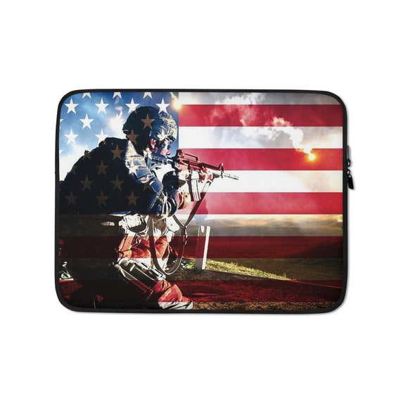 Army Soldier Laptop Sleeve