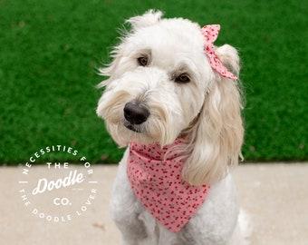 Custom Slide On Pet Beach Scarf Personalized Summer Dog Collar Bandana Let/'s Go to the Beach!