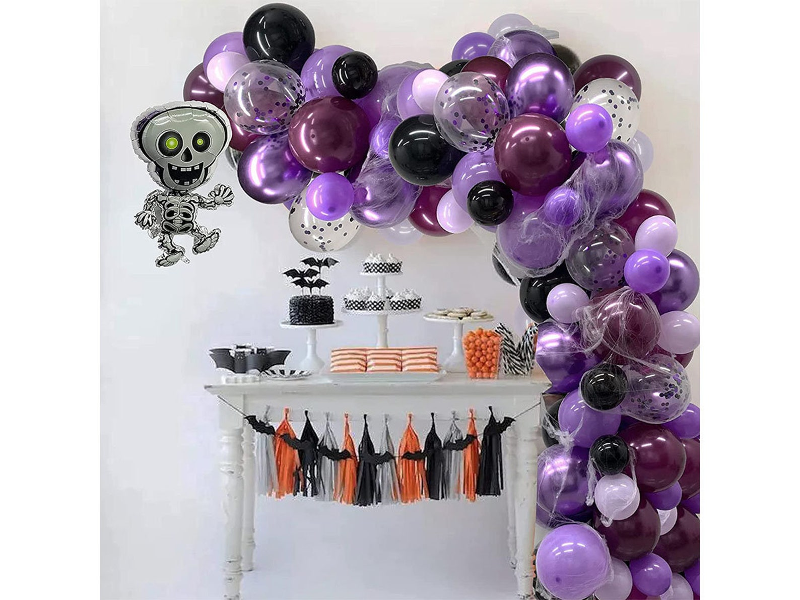 Halloween Balloon Garland Arches Page Five