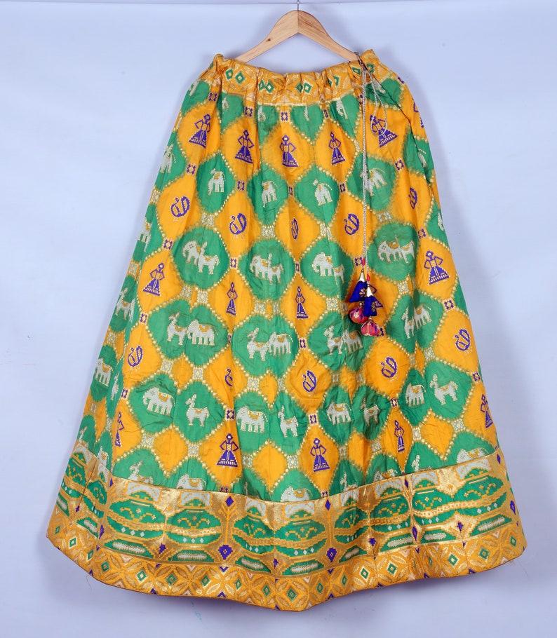 Pure silk Chaniya cholilehenghaskirts