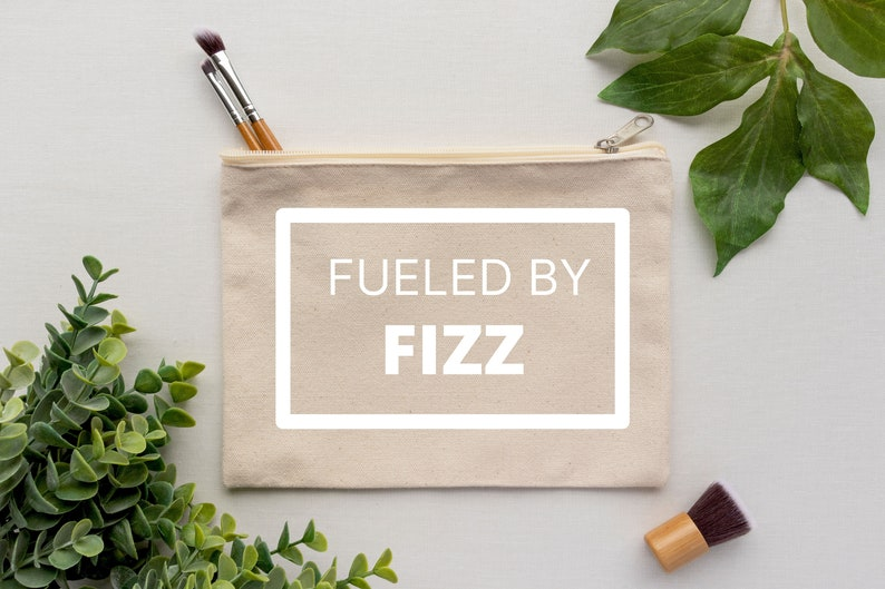 Fueled By Fizz Makeup Bag