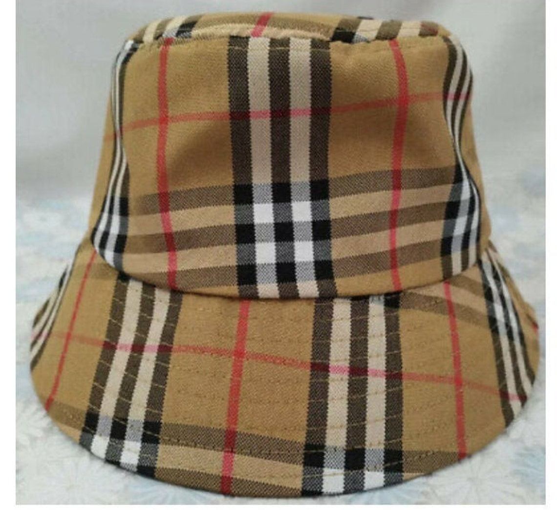 Vintage Burberry Bucket Hat  Size S/M image 0