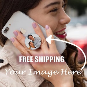 Customized Phone Grips Metallic and Flakes Phone Grips