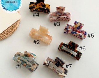 French hair clip | Mini hair clips | Mini hair claw 4.5cm | Mini Hair Claw in Germany