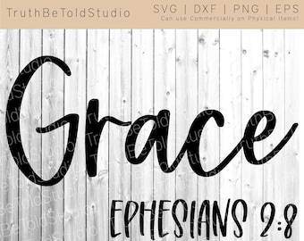 SVG Cut Ready File Cute Vector Design Give Grace Be Kind Do Good
