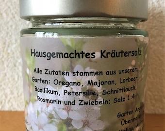 Garden Angelika, herbal salt