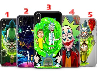 Rick and morty phone case | Etsy