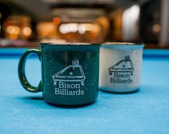 Bison Billiards Mug