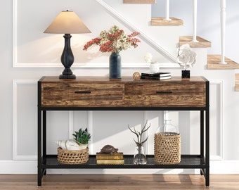 Industrial Console Etsy