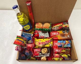 Peruvian Candy Box Assortments Cookies Chocolates Candies & Inka Kola Soda Candy Gift Box Peru Sweet Treats Dulces Peruanos Mix Lot 23pc
