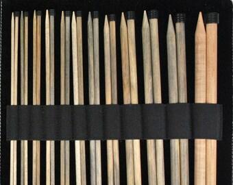 """LYKKE Driftwood 12"""" Straight knitting needles"""