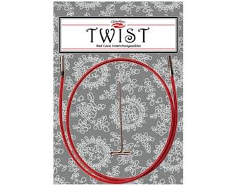 ChiaoGoo 14'' TWIST Red Cables [M] [S] [L]