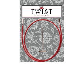 ChiaoGoo 22'' TWIST™ Red Cables [M] [S] [L]