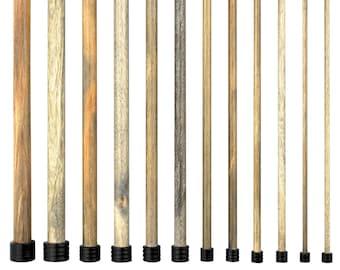 LYKKE Driftwood 10'' Straight knitting needles