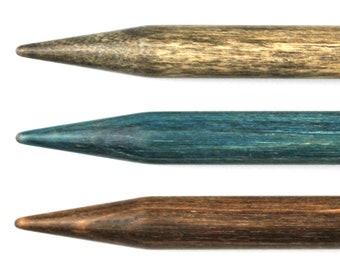 """LYKKE Indigo 6"""" DPN's  Needle - blue double pointed knitting needles"""