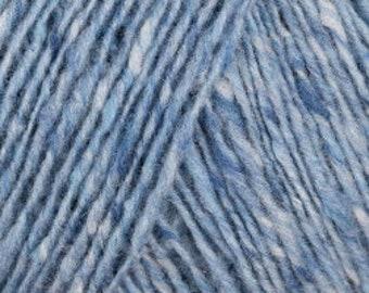 95% merino wool 5p. cashmere - Debbie Bliss FINE DONEGAL - 100gr. - Colour 16 Sky - Lot : 01/17