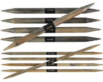"LYKKE Driftwood 6"" DPN's  Needle - double pointed knitting needles"