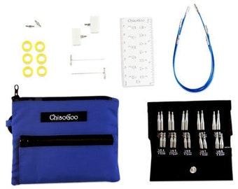 Chiaogoo Twist shorties Small Set - Short IC knitting needles