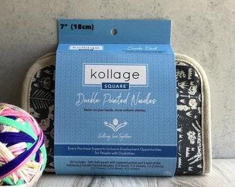 KOLLAGE DPN set  5'', 6'' & 7'' - Double pointed knitting needles set