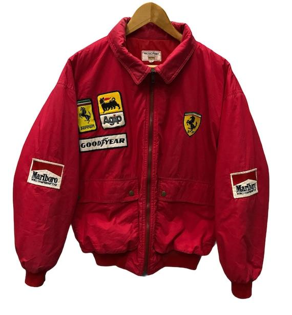 Vintage Ferrari patchwork jacket