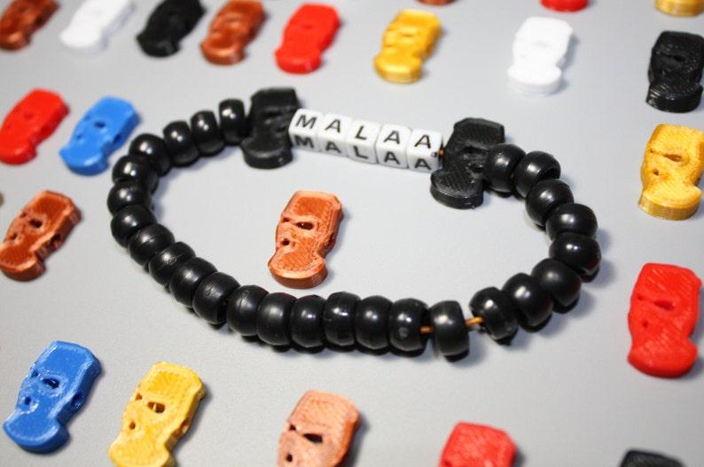 MalaaSki Mask Kandi Charm Beads