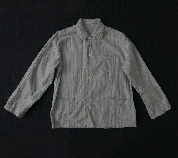Flannel sleepwear / Grey stripes