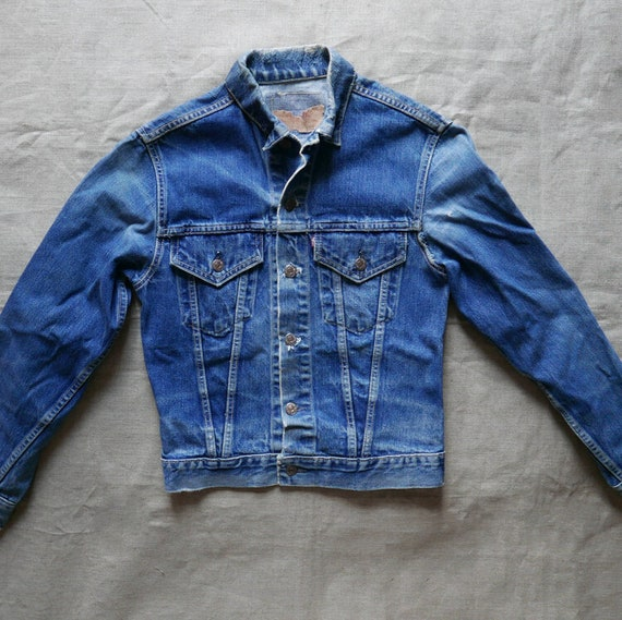 Levi's big E trucker jacket