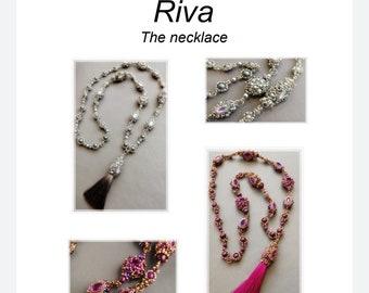 PDF pattern Riva Necklace