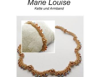 PDF Anleitung Marie Louise  Kette/Armband