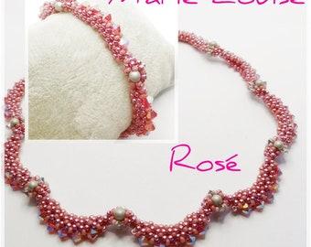 Kit Beads Marie Louise Rose