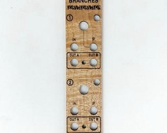 Mutable Instruments Branches - Wooden Panel (unique!)