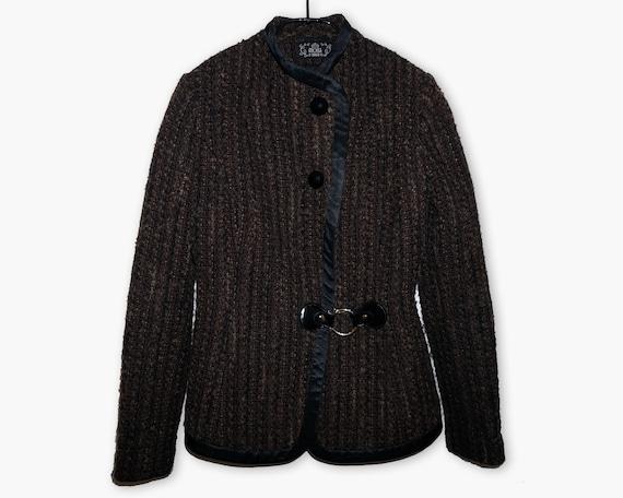 Tweed Suit Women's 2 Piece Skirt and Jacket Wool B