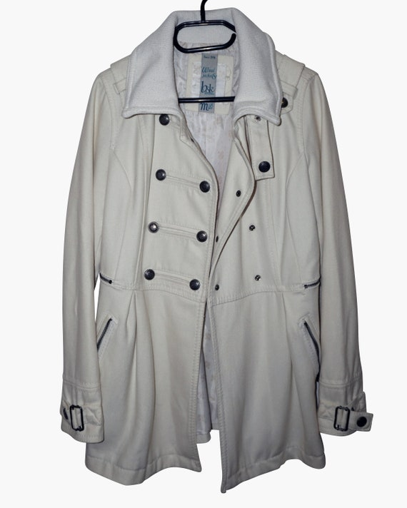 Maxi White Coat Oversized Fall Coat White Formal Coat Long Wool Coat Winter Wedding Spring Wedding,Elegant coat Minimalist Womens Coat