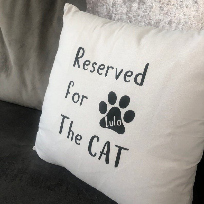 Reserved for the Pet Cushion CoverPet CushionCat mum giftCat loversCat paws