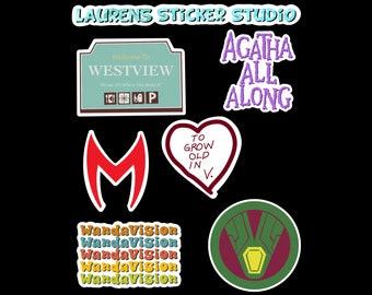 Westview Residents Sticker Sheet