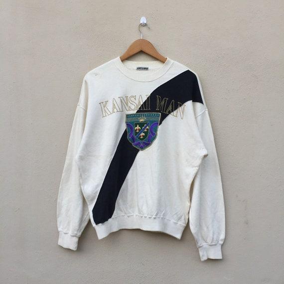 Pick !!! Vintage 90s Kansai Yamamoto Sweatshirt Ka