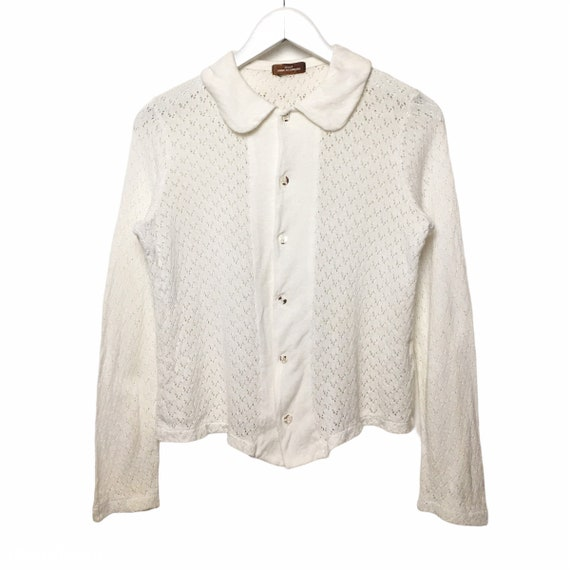Comme des Garcons Tricot Cropped Cardigan