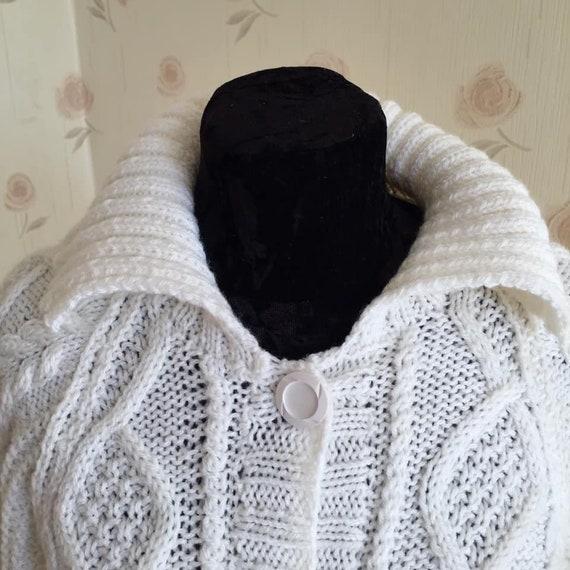 Dark academia Y2K Vintage Sweater  Cottagecore sw… - image 9