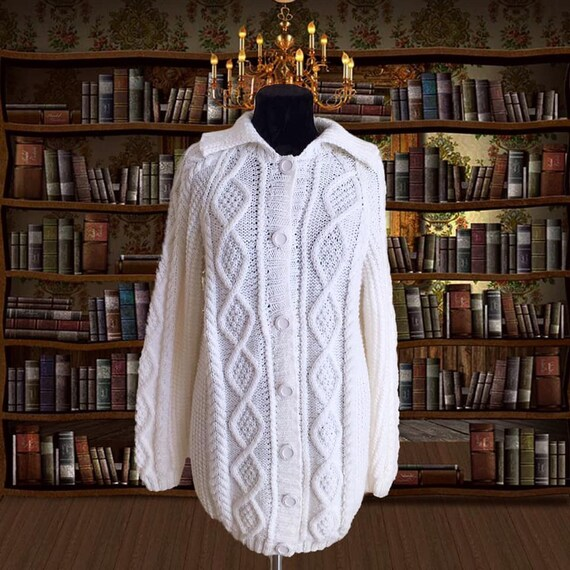 Dark academia Y2K Vintage Sweater  Cottagecore sw… - image 2