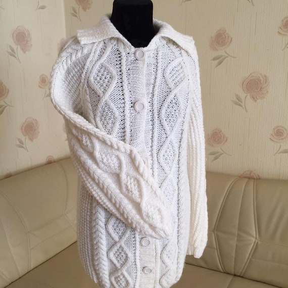 Dark academia Y2K Vintage Sweater  Cottagecore sw… - image 4