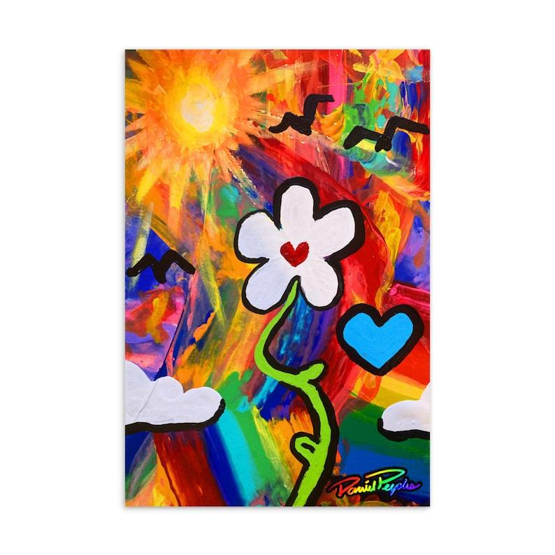 Let your Love Grow Standard Postcard