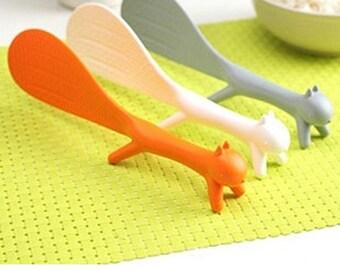 Non-Stick Rice Paddle Embossed Rice Paddle Spatula Ladle Kitchen Tool